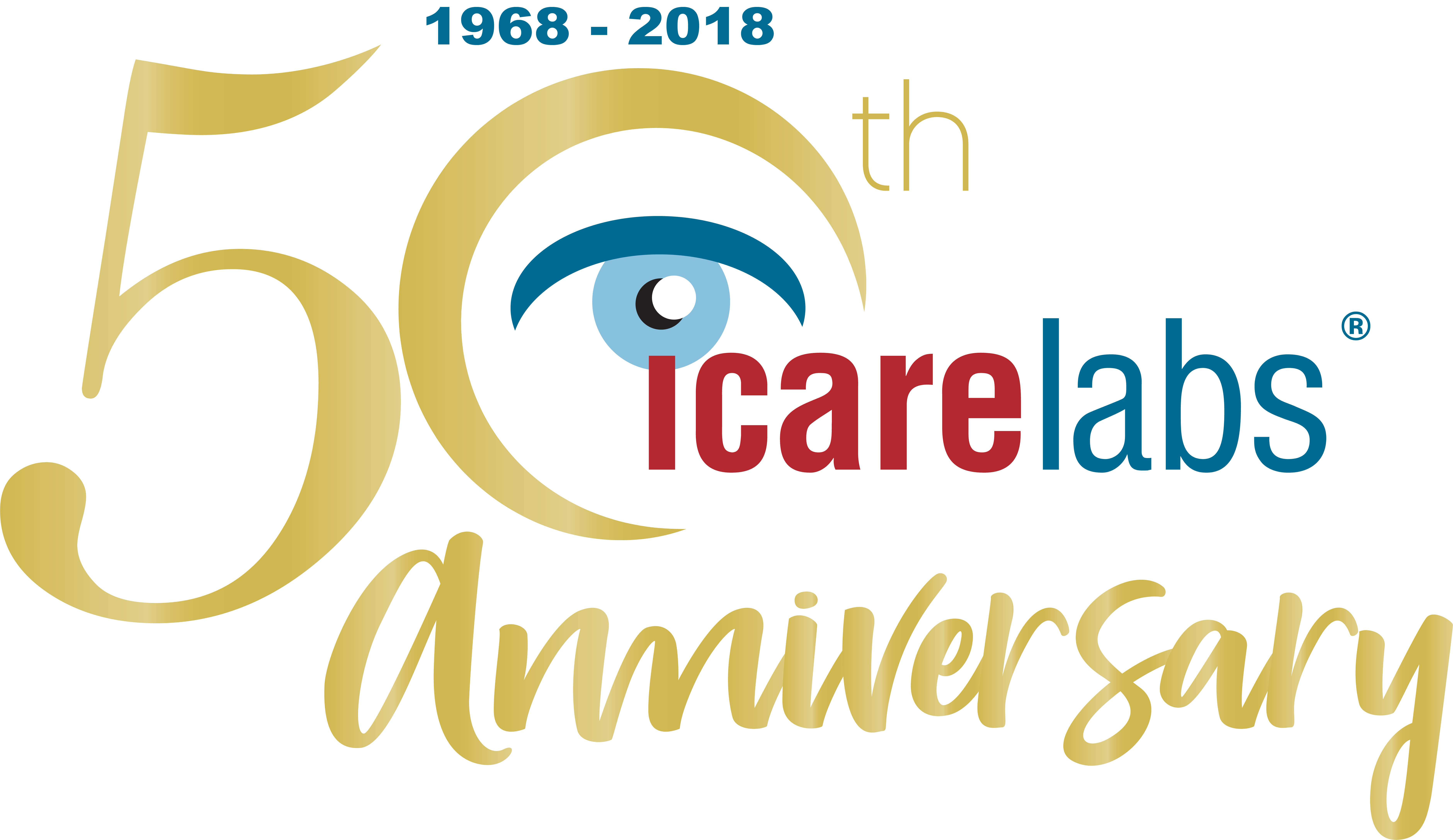 Official 50th Icare Logo-2