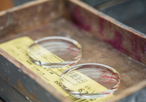 Processing lenses in-house since 1968